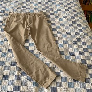 JCREW slim fit khaki pants